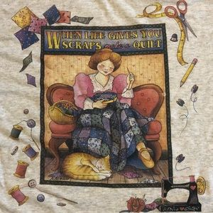 Vintage Quilting Sewing Crafting T-shirt
